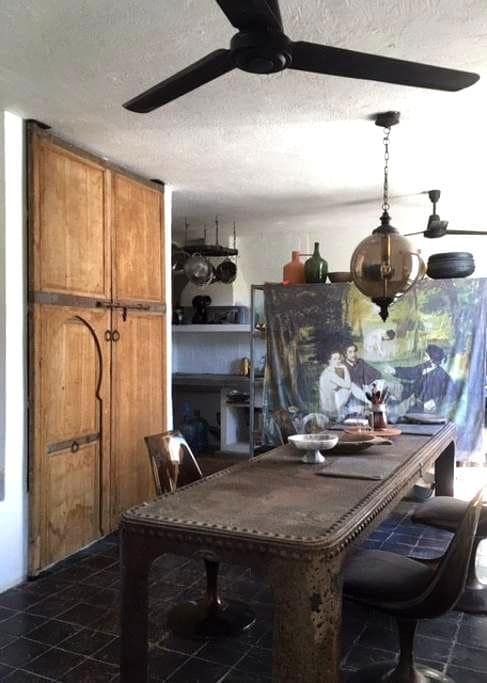 Artist Pied et terre, Costa Careyes - Careyes - House