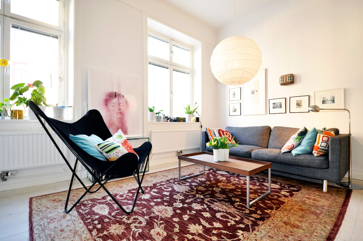 Cozy flat in central Stockholm