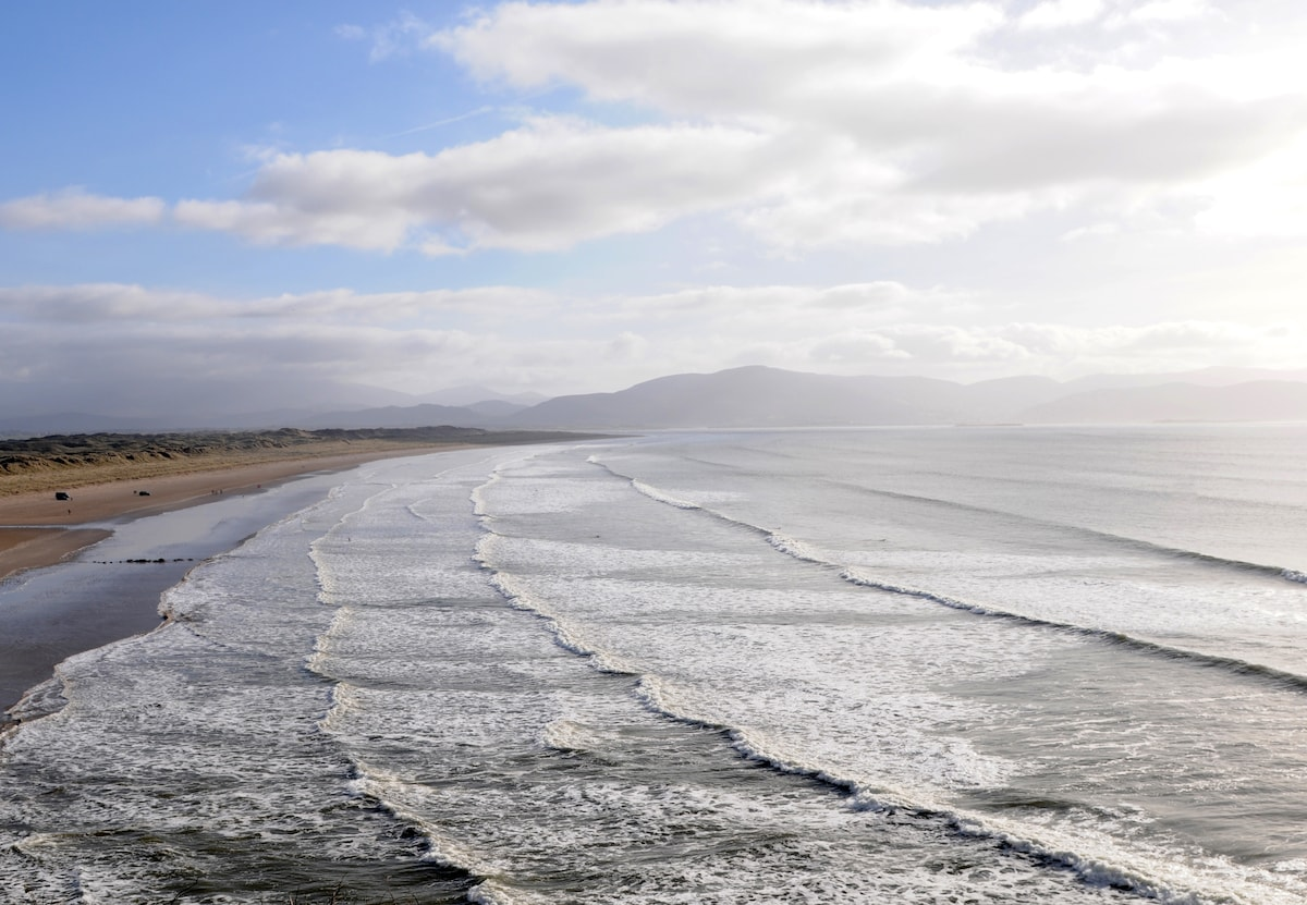 Inch beach, ten kilometre of beach and famous for the film Ryans Daughter