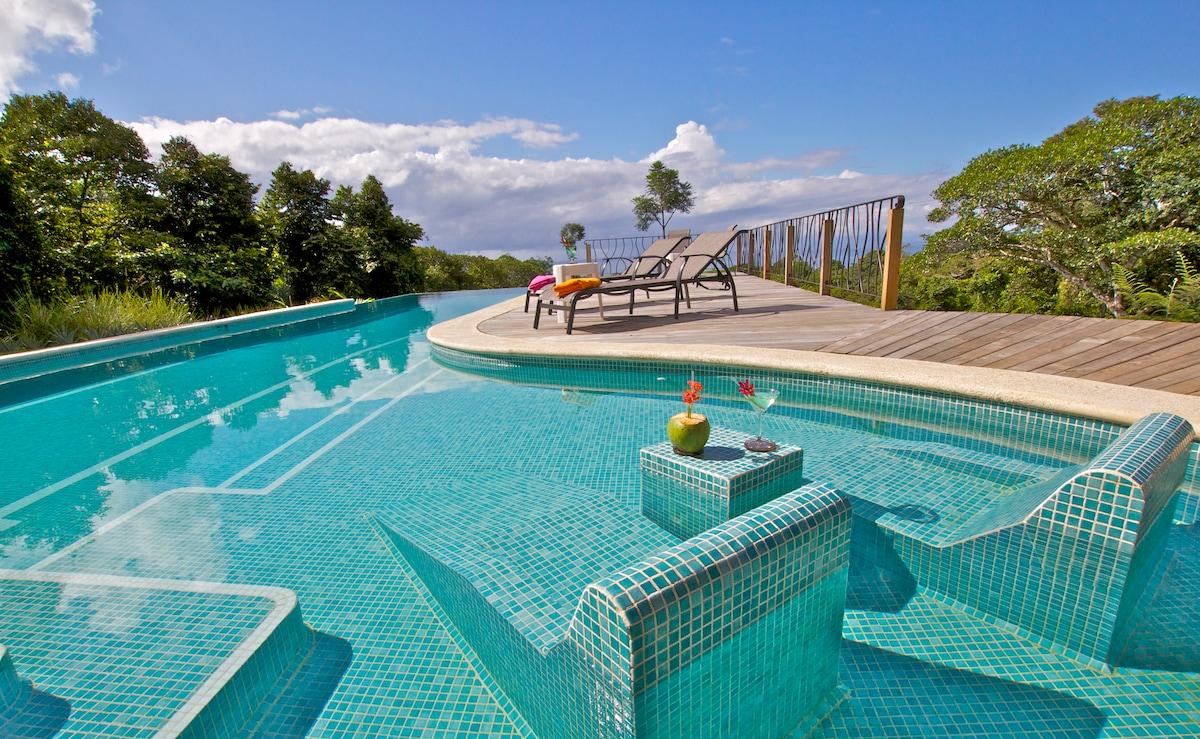 New Villa, Ocean View, Lush Nature