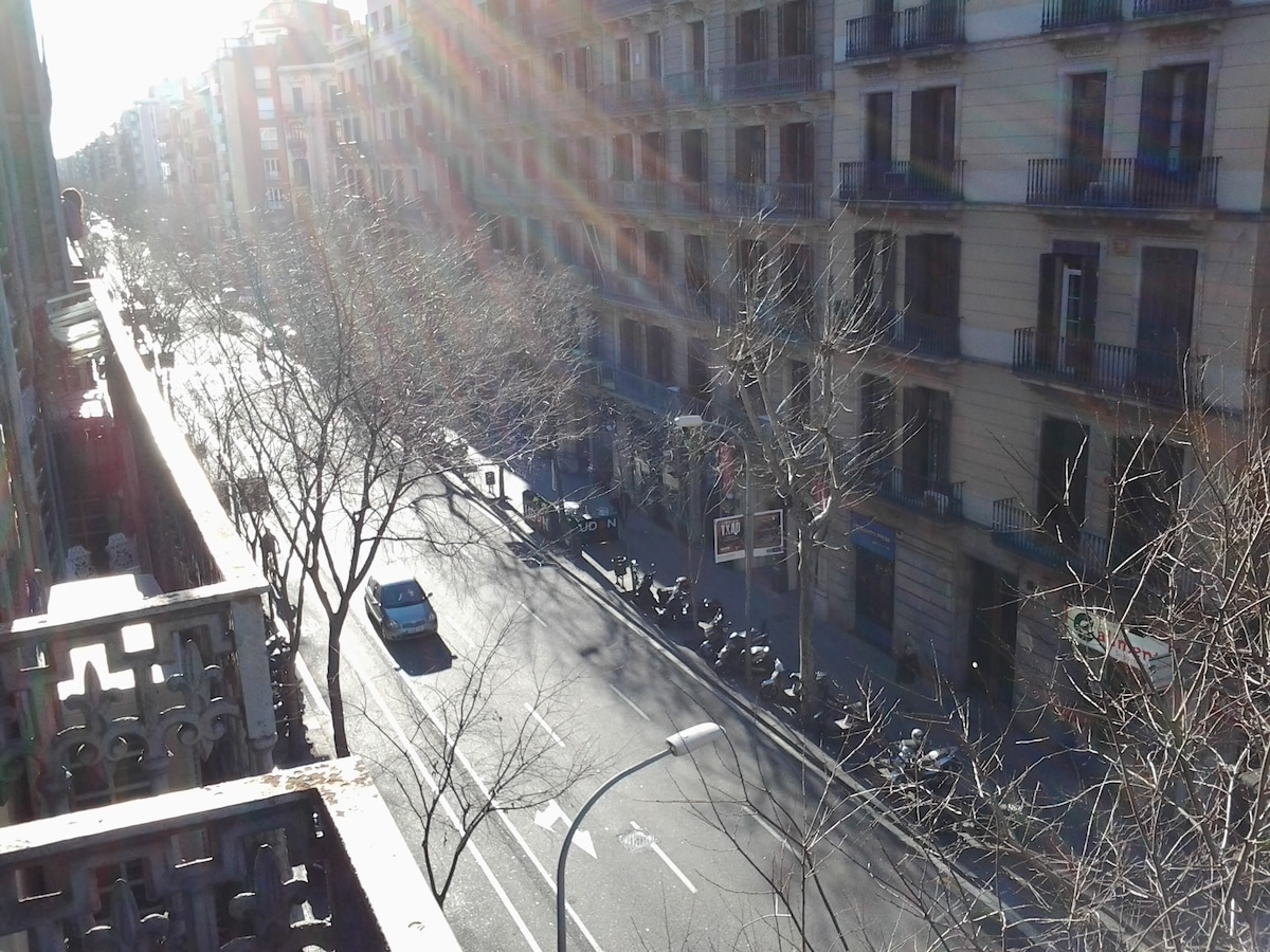 Barcelona doing what it does best. Sunshine!