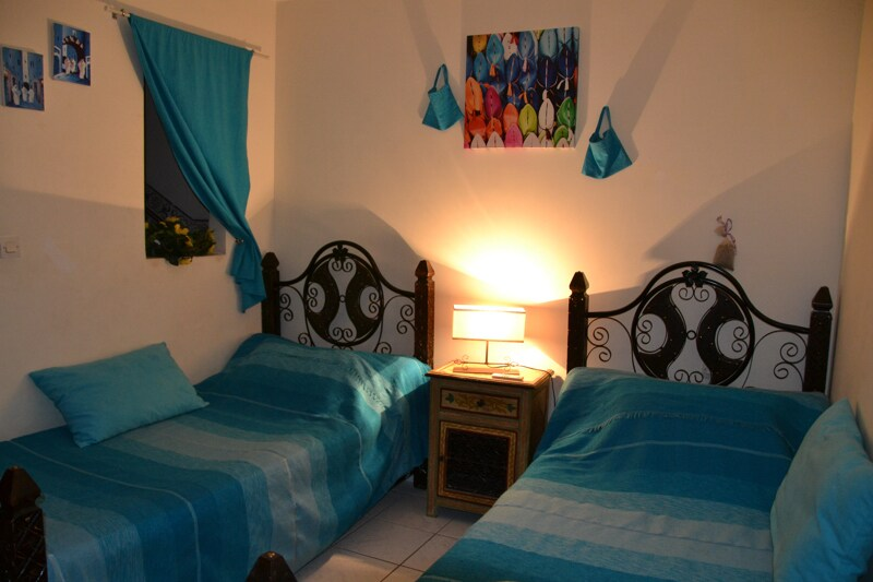 Chambre Essaouira de nuit