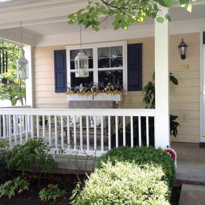 Quiet free standing northeast Columbus condo - Columbus - Rumah
