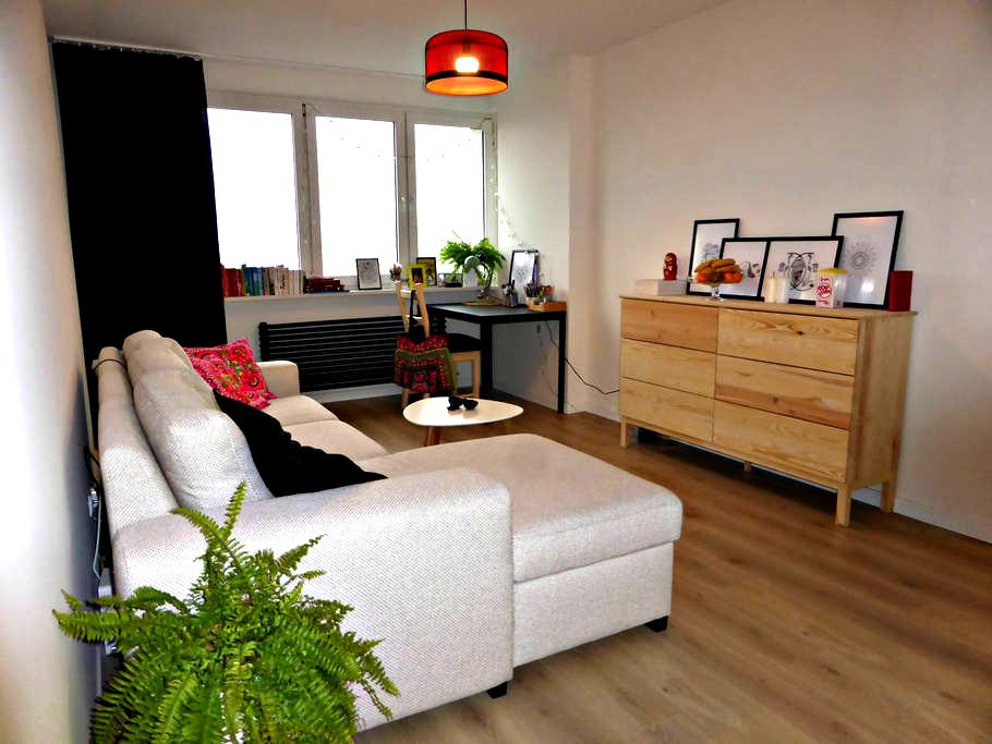Cosy and bright flat - perfect location! - Warschau