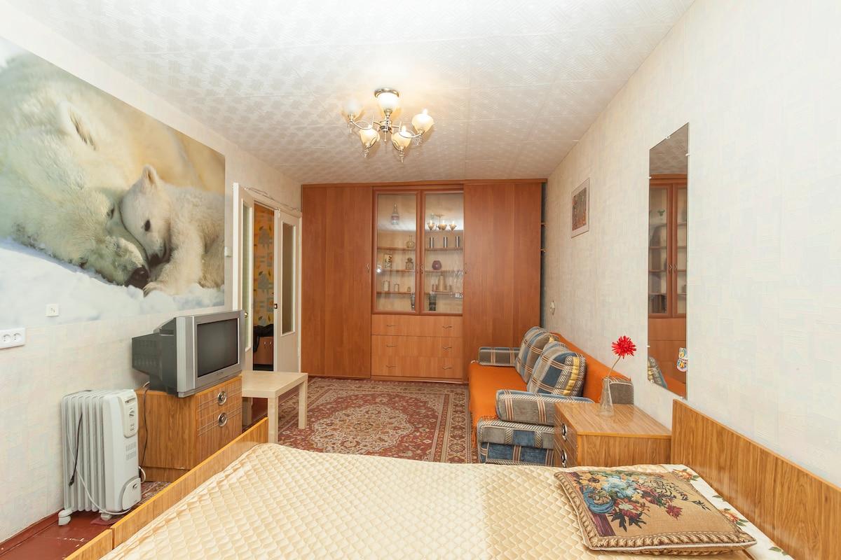 Однокомнатная квартира Уктусская 58
