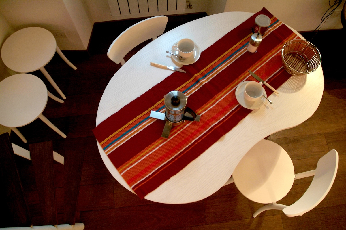 A carpenter from 3 generations heeled to design and make the table, bed and chairs