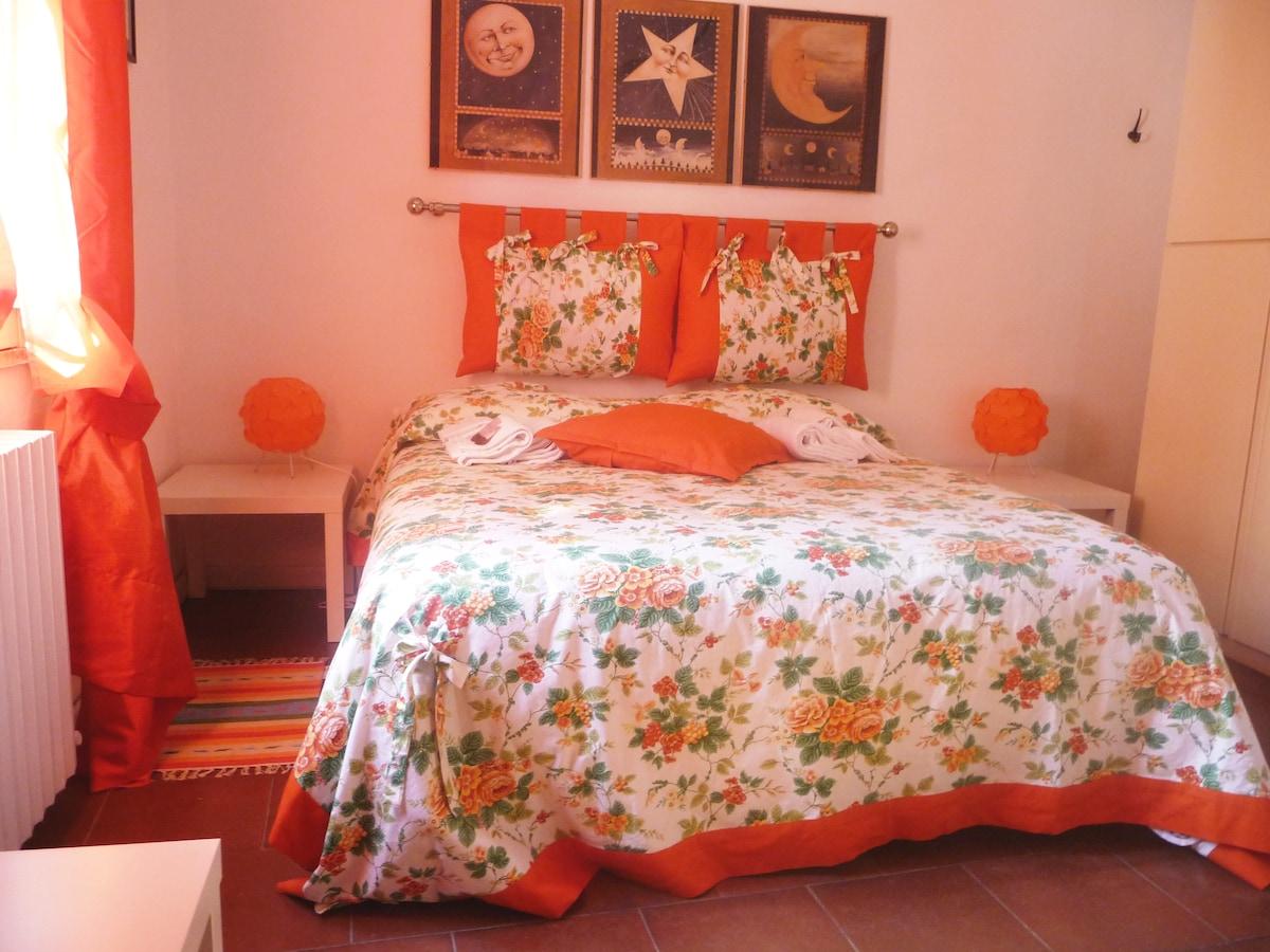 Camera da letto di giorno