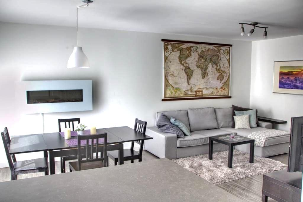 Sunny modern apartment Old Beloeil - Beloeil - Appartement