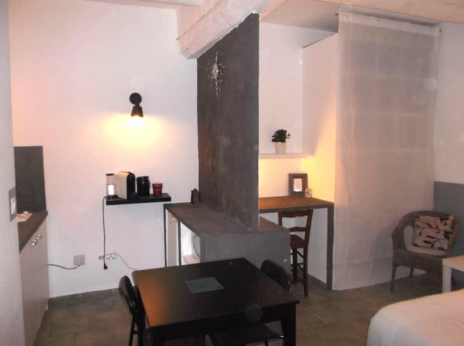 studio dans un village de provence - Lorgues