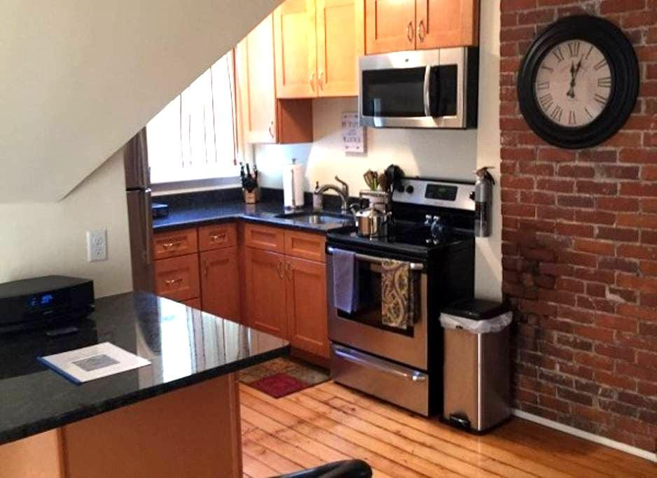 Perfect Northampton Apartment, walk to downtown - Northampton - Pis