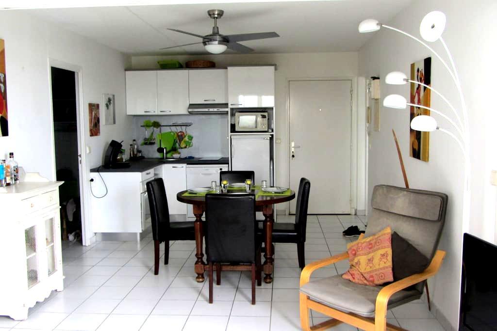 Bel appartement T2, calme, vue mer - Les Trois-Îlets - Apartment
