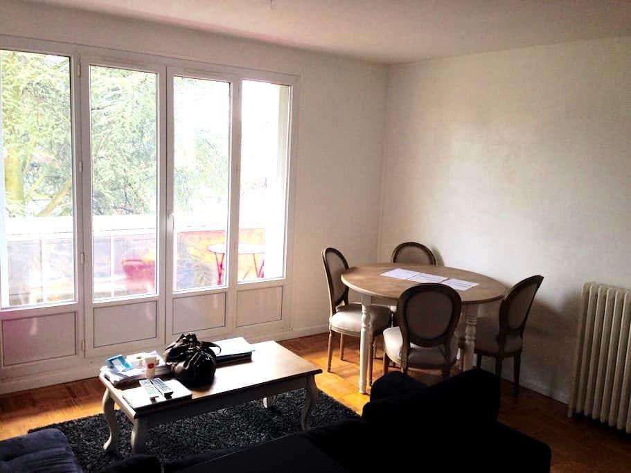 Charmant T3 vue Espaces verts 2chb - Tinqueux - Appartement