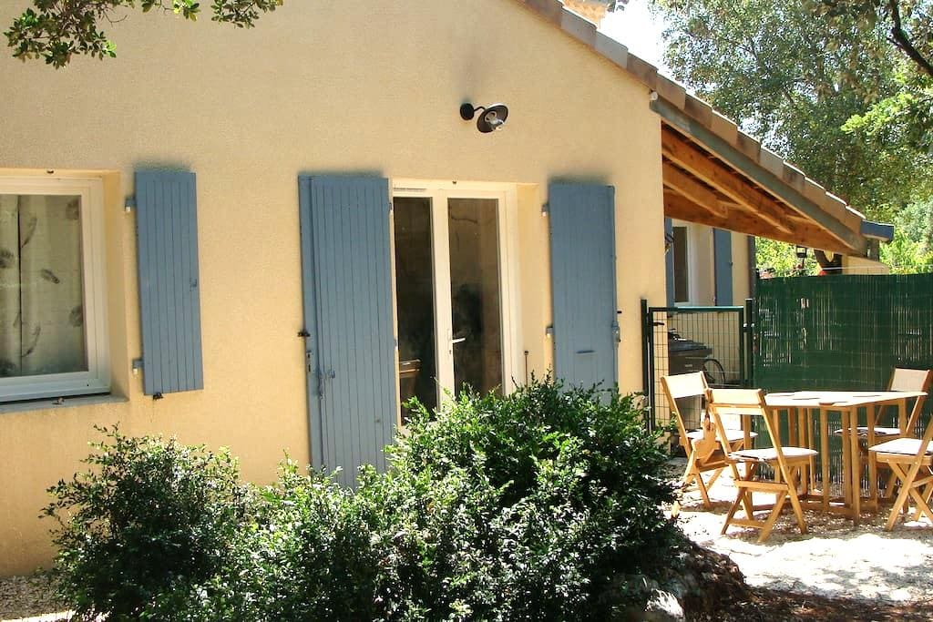 Gîte tout équipé 2 à 4 personnes - Labastide-de-Virac - Rumah