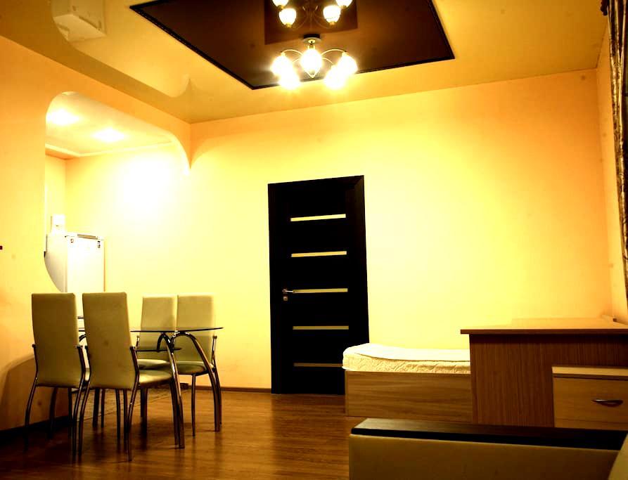 Двухкомнатные апартаменты студия с зоной бербекю - Yaroslavl'