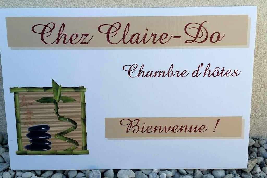 """""""Chez Claire-Do"""" Chambre d'hôtes - Farvagny - Ev"""