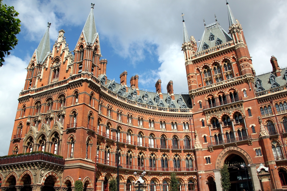 St Pancras Chambers - a gothic fantasy of bricks and spires