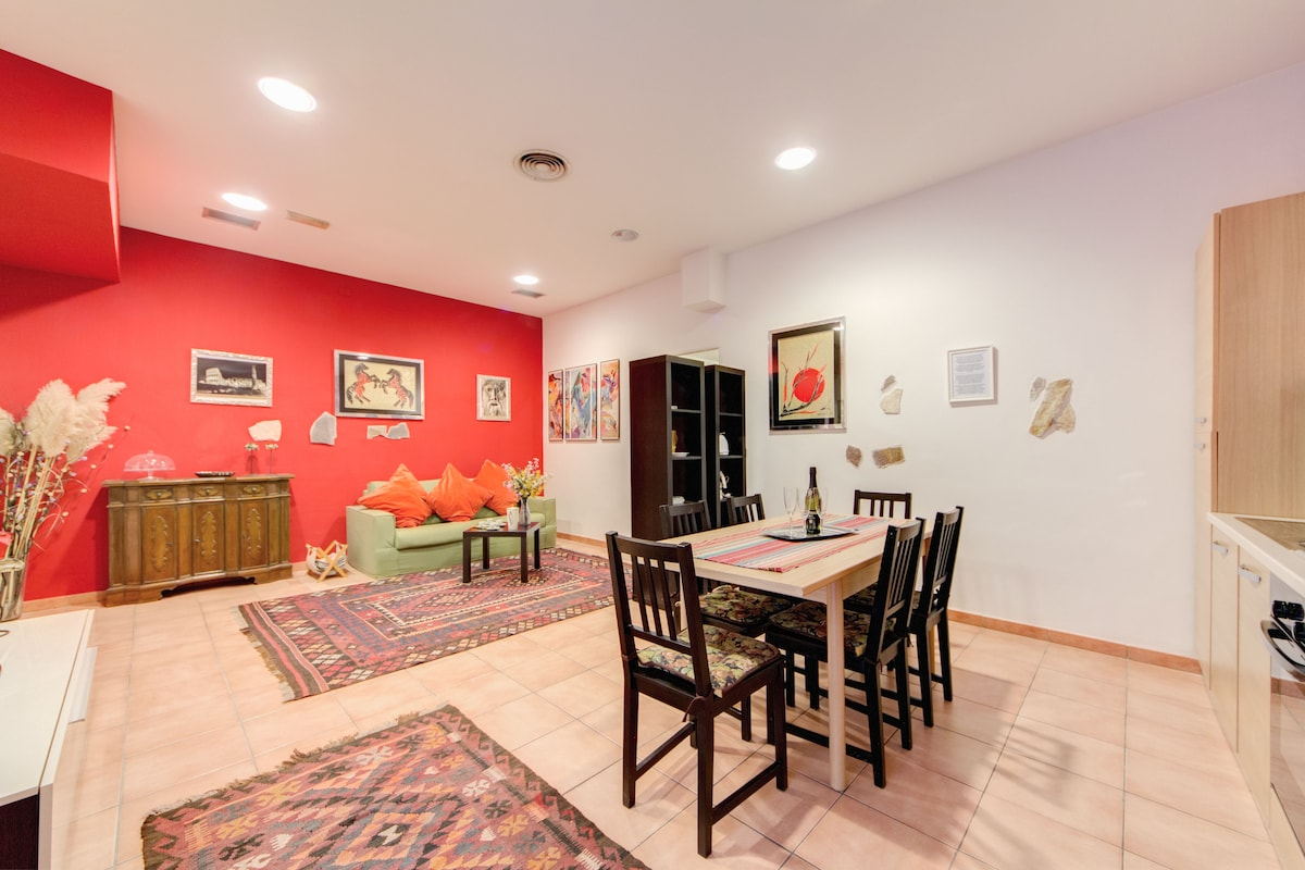 your dining + living area...air conditioned...