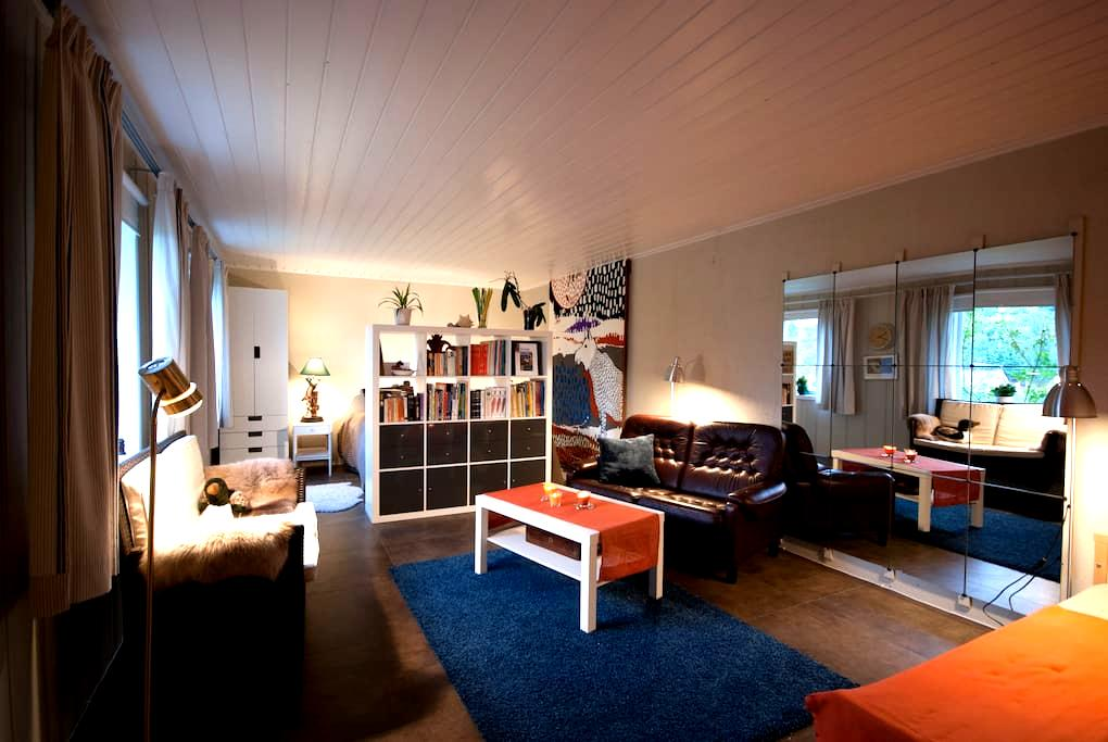 Sunny apartment in seaside village, south of Oslo - Asker - Leilighet