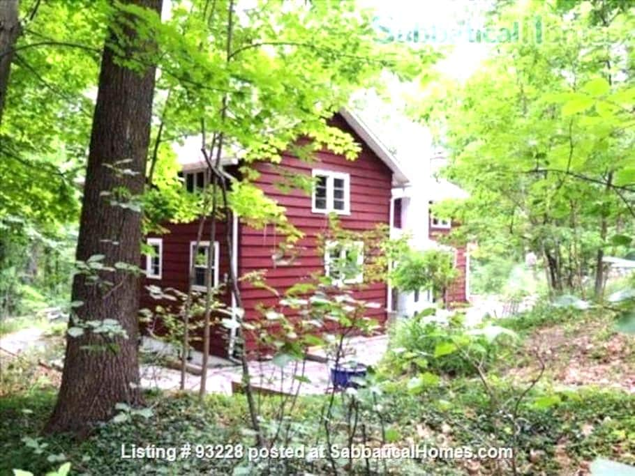 Forest House Near Hiking, Colleges - Ithaca - House