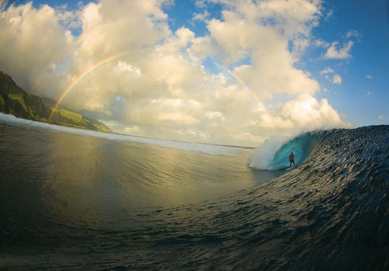 Visit the near by beach where the professional surf…. Tallest waves in the world