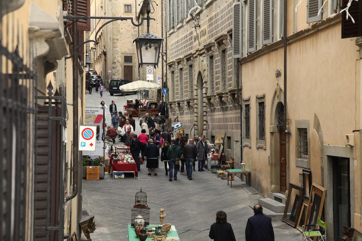 Sapore medievale in Arezzo
