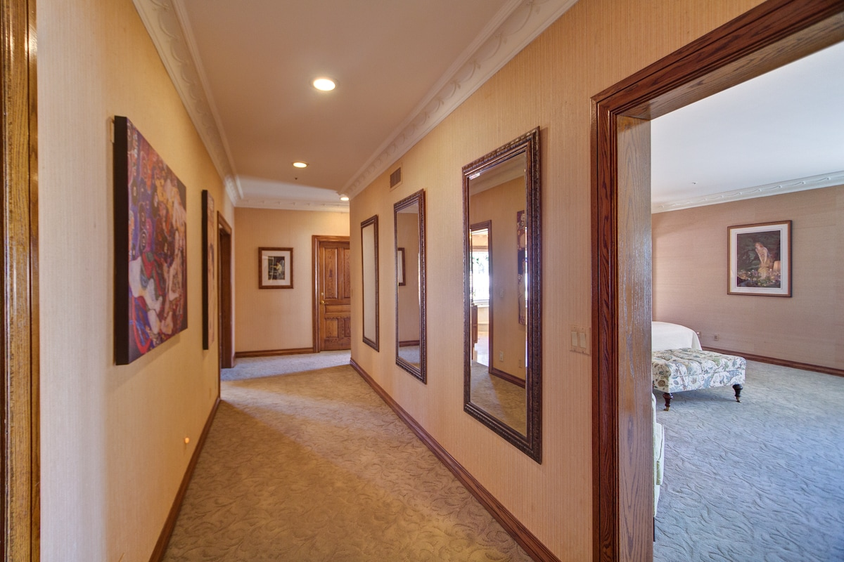 First view of your private suite