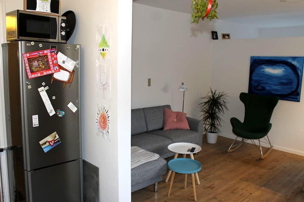 Central lejlighed med nyt køkken og bad - Odense - Apartamento