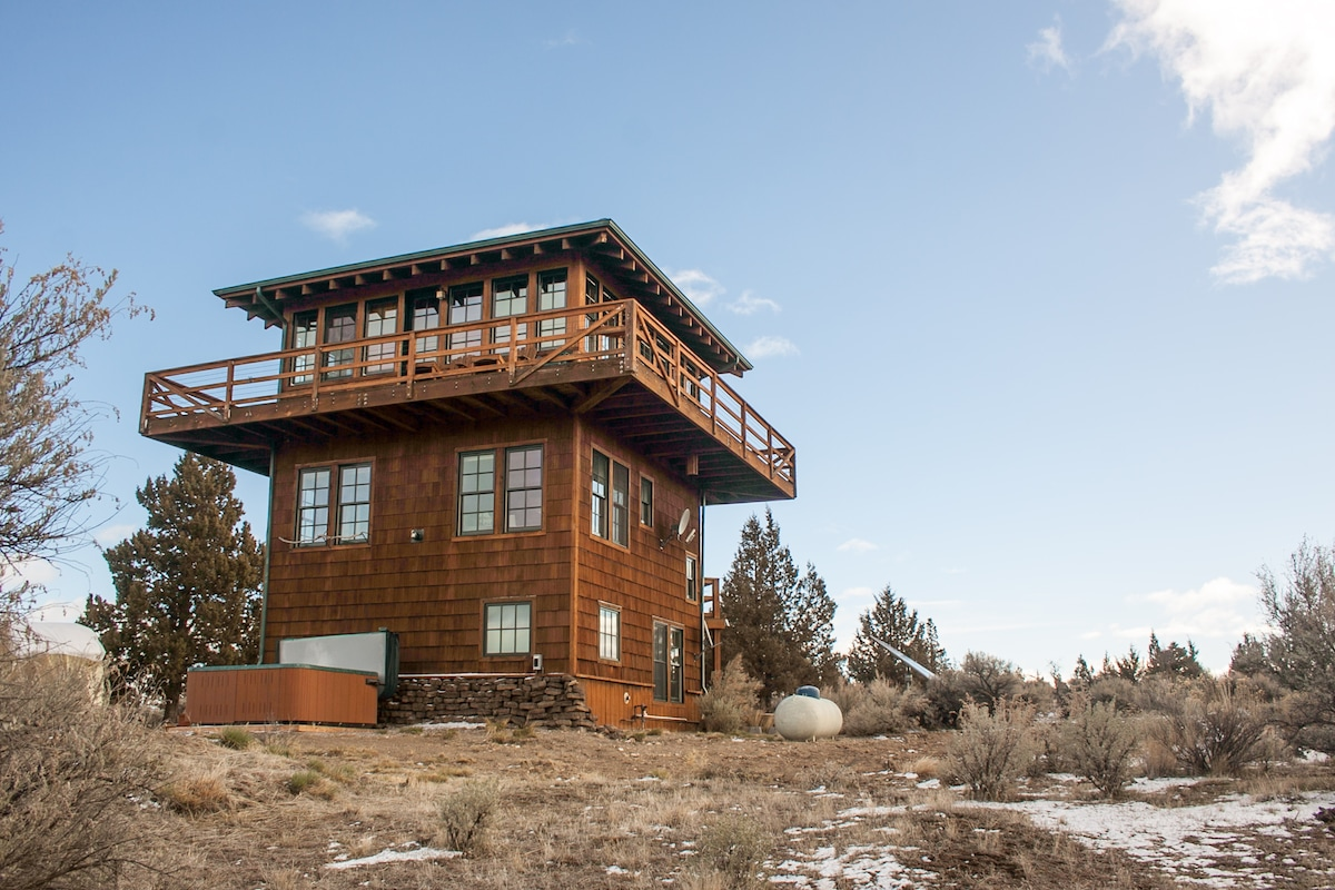 Cozy Three Story Lookout Tower   Houses For Rent In Terrebonne, Oregon,  United States