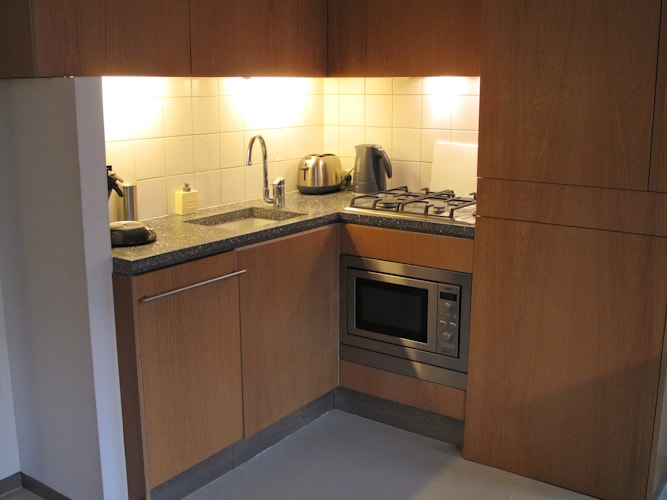 Very complete kitchen including dishwasher, microwave, washer/dryer