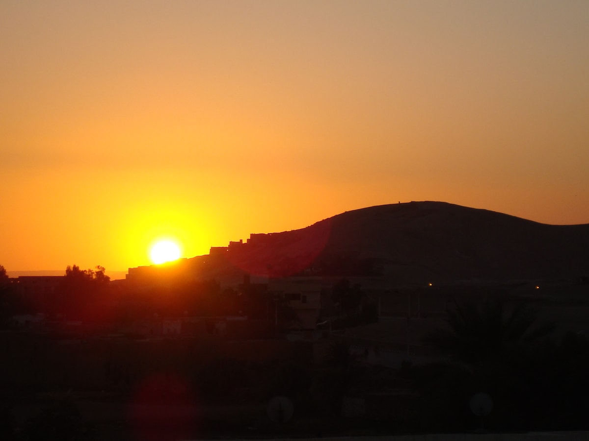 Sunset over The Valley of the Kings