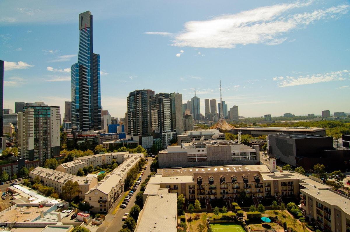 Fabulous City Views - North Facing Balcony