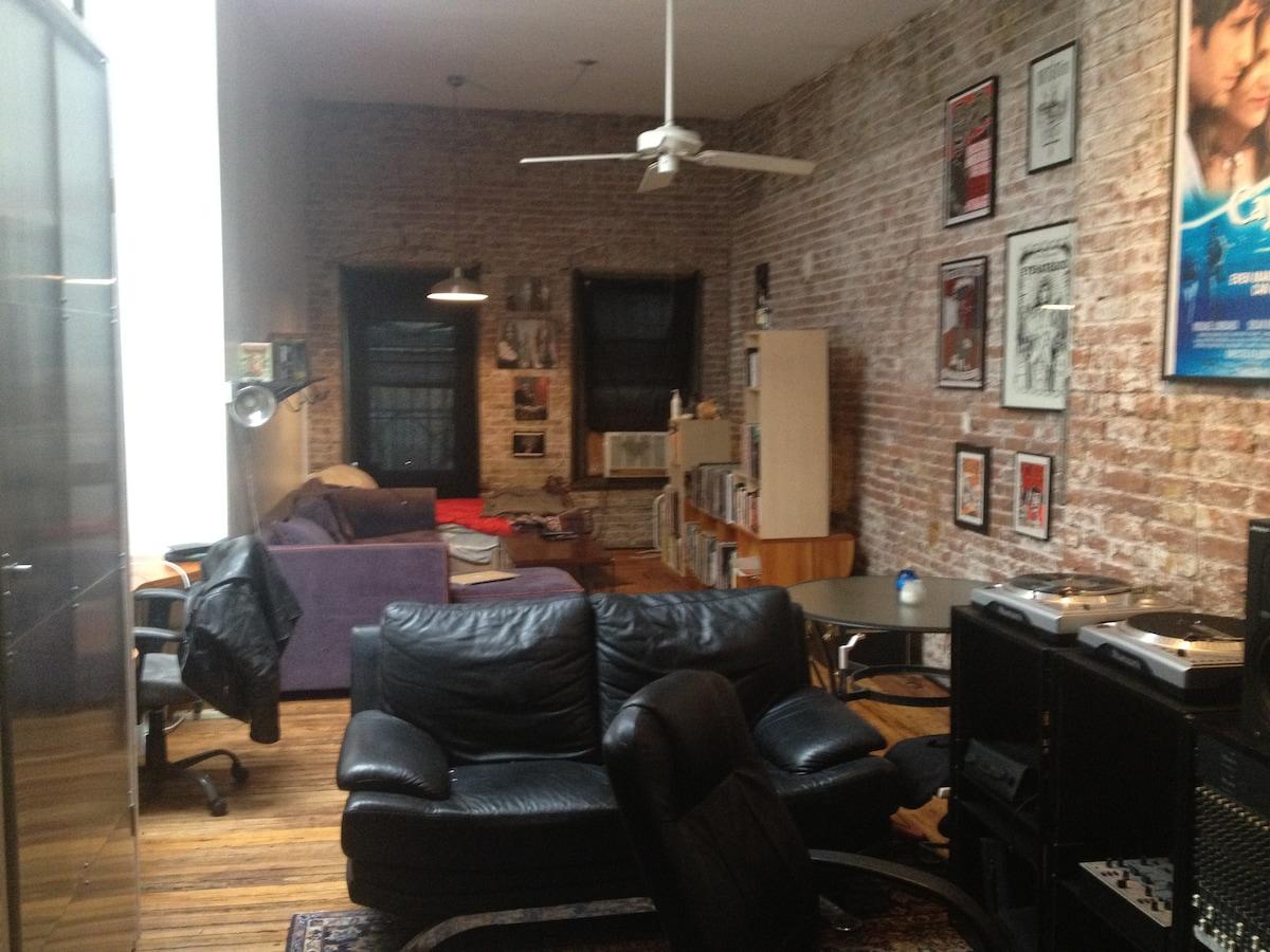 Huge Room in Lower East Side Loft