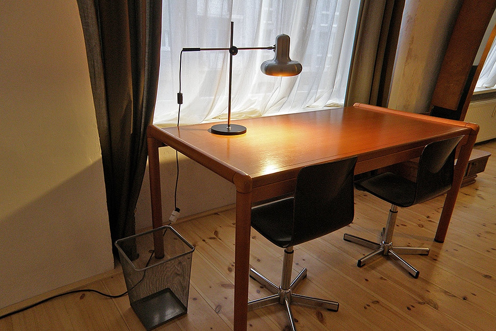 Vintage 70's Flötotto working table & chairs.