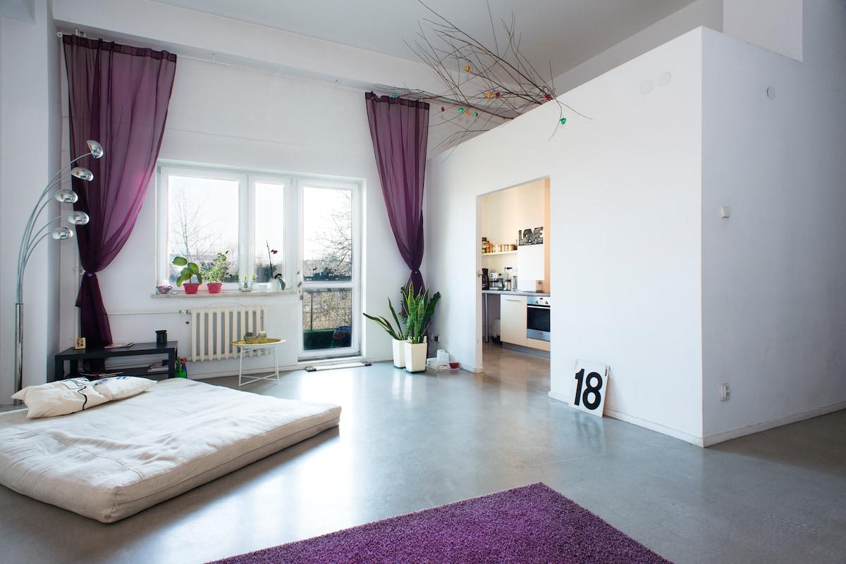 87 m2, excellent location, fits 8.