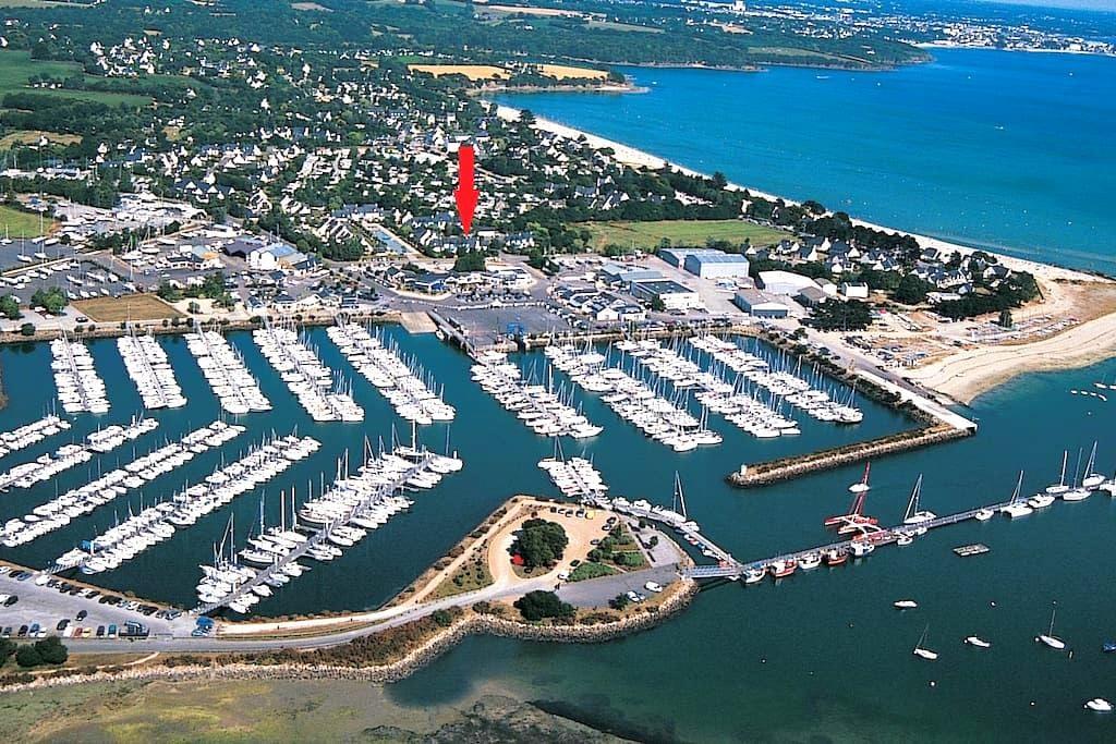 La Foret Fouesnant (29940) - proche port & plage - La Forêt-Fouesnant - Huoneisto