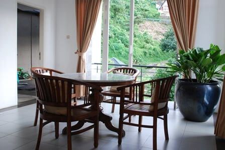 Small table Dining Room to enjoy your meal.