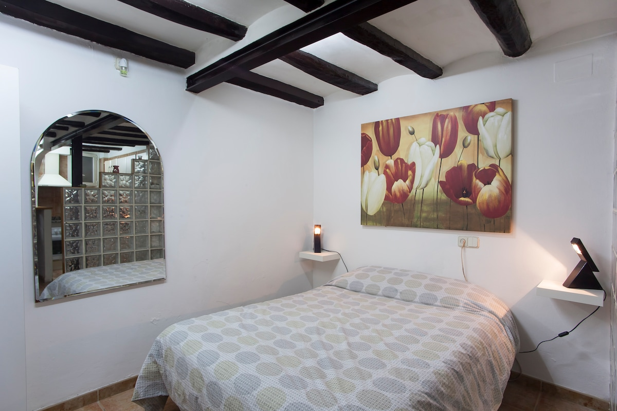 Fresh, clean, one-piece apartment in the heart of the city center.