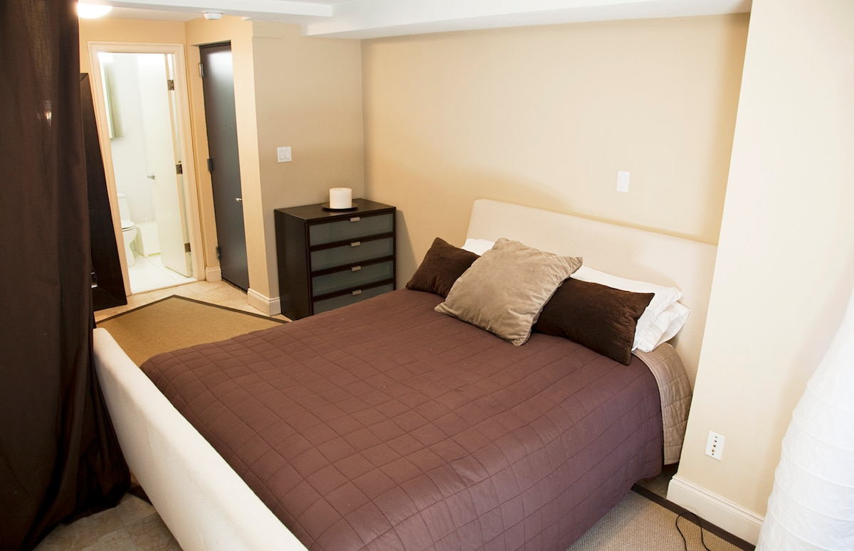 Your Room with a Queen Size Bed