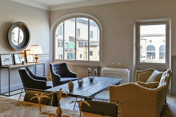Luxury view apartment Ponte Vecchio