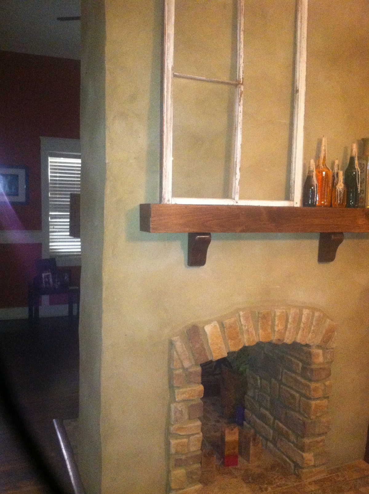 Cool Double Fire Place