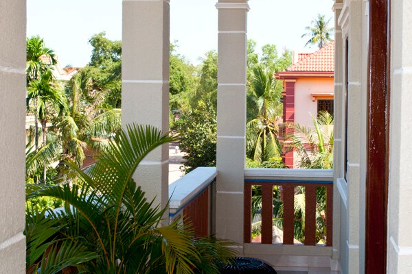 Balcony with access to the room