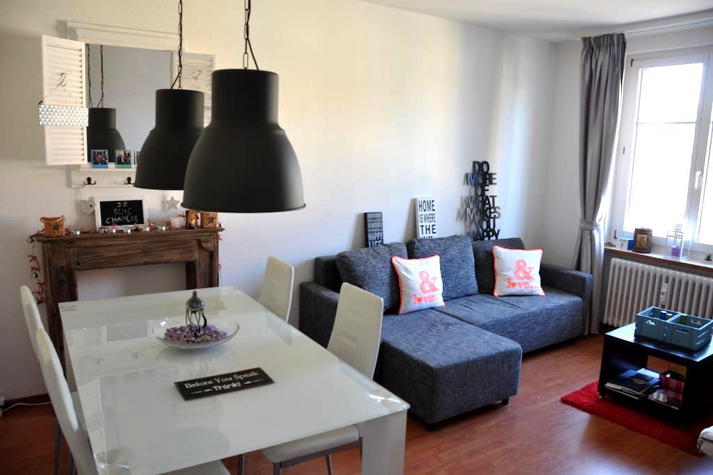 Confortable Couch in Winterthur - Winterthur - Apartament