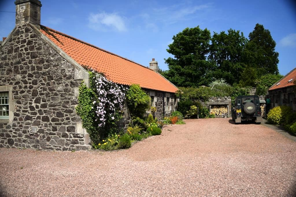 A Homely East Lothian Cottage - East Linton - Huis
