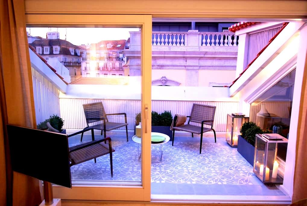 Chiado Loft 1 Terrace Amazing Apartment - Lisbon