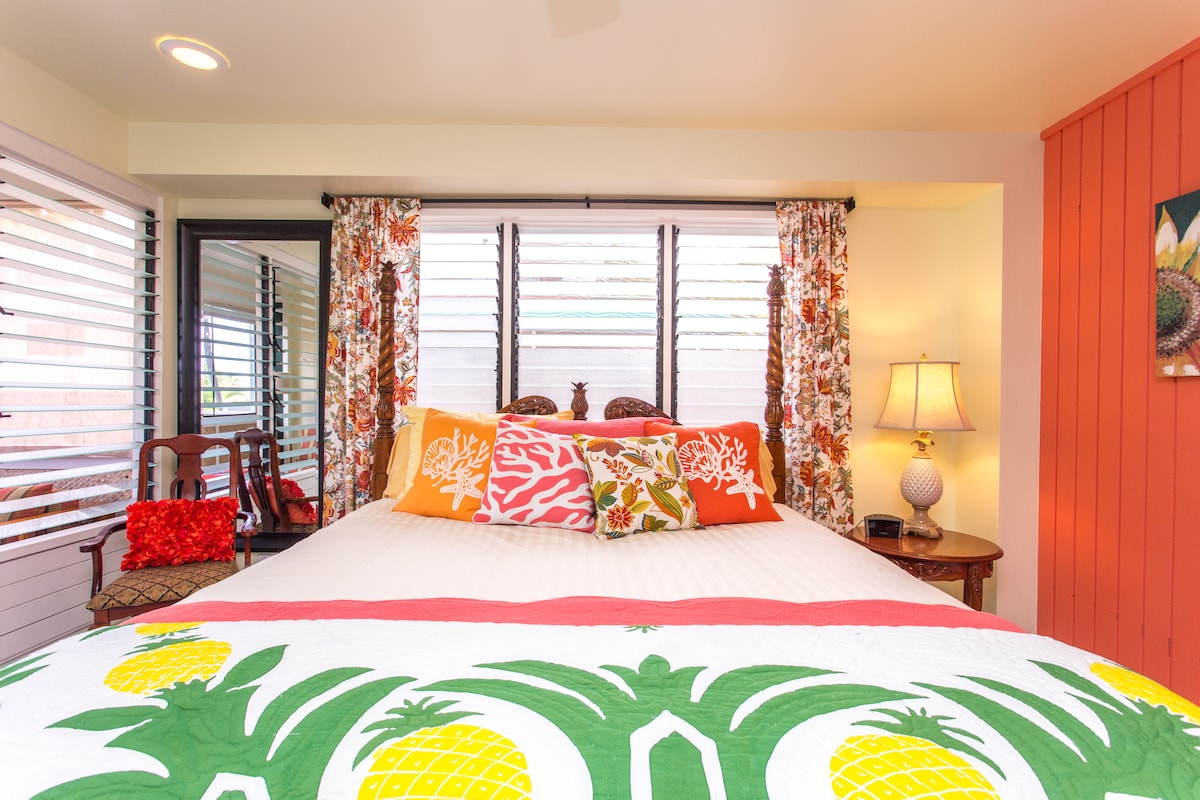 Big Island Retreat Pineapple room