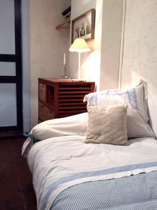 chambre bleue  Moissac centre-Ville - Moissac - House