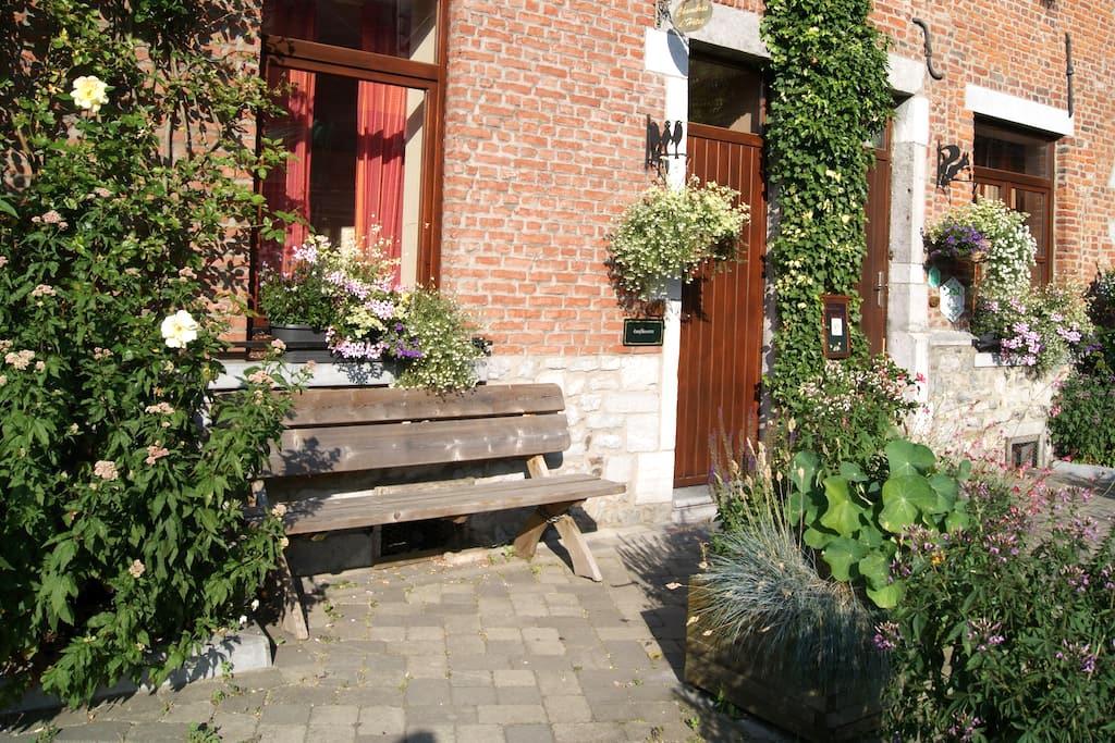 Confluences Maison d'hôtes 3 épis - Walcourt - 家庭式旅館