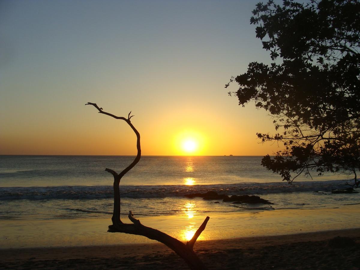 Sunset at Brasilito cove