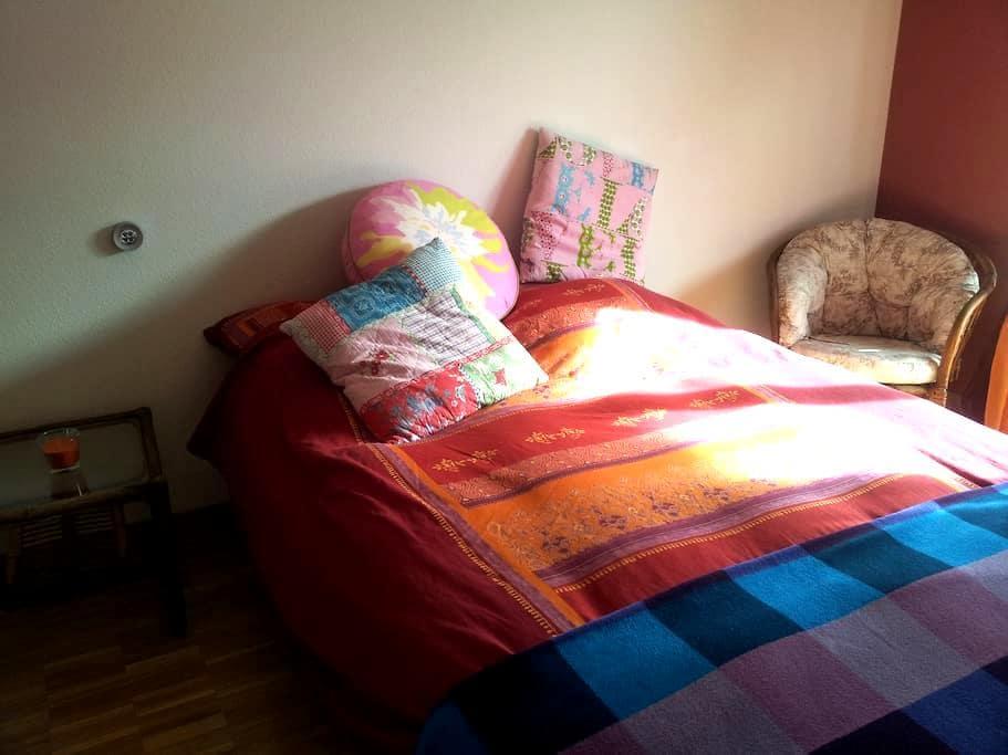 Jolie Chambre avec Balcon - très lumineuse. - Gimel - Annat