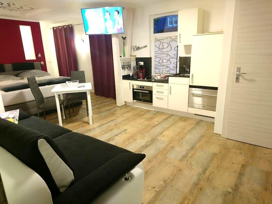 Apartment CHARMANT 34qm in Jena-zentral 2(+2)P. - Jena - Flat